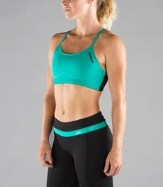 3e780619d33ed Women s Stay Cool LUNAR Sports Bra (ECo20) Teal
