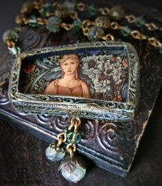 Pomona+++Pictorial+Necklace+by+ParrishRelics+on+Etsy,+$96.00