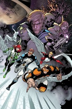 "ALL-NEW X-MEN #22.NOW January 2014   ""The Trial of Jean Grey"" When alien races learn that Jean Grey, host of the destructive Phoenix Force, is back on earth, they do something about it. Now it's up to the rest of the All-New X-Men and the Guardians of the Galaxy to save Jean Grey from twisted intergalactic justice! Don't miss two of Marvel's biggest franchises crossing over for the first time!"