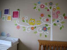 Submitted by Laurie: she painted (!) our Scroll Tree white to better match her daughter's nursery. Amazing!!! Look for her story on our blog next month. ^nk