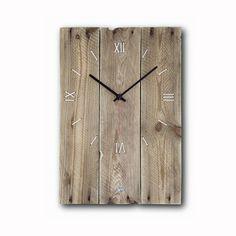 Natural wood clock, wall clock, original clock, rustic wall clock, wood clock, hand made clock, clocks