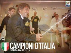 Conte  Juventus Campione d'Italia