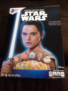 Star Wars Cereal - Rey
