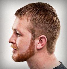 facial hair grooming - Full Face Short BoxedBeard