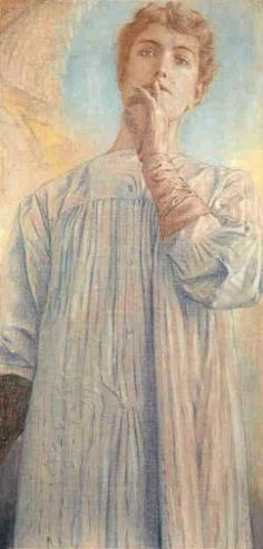Silence, the exact moment where one sound would be too much and still, you keep in mind what was lastly said. Some faces play the silence more intensely than others. They succeed to express something hidden between the waves of life. - Du silence by Fernand Khnopff (1890)