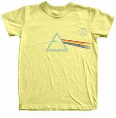 pink floyd triangle baby shirt