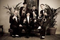 """ Champagne Charlie and The Bubbly Boys"" Fancy yourself a flapper? Busting to show off your Black Bottom? Charleston like Clara Bow and drink champagne like Gatsby? Well come and join the party and keep the 20s roaring! on September 18, 2015 at 10:30 pm - 11:45 pm. Category: Arts 