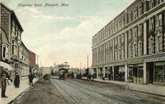 Newport Gwent, Cymru, Old Photos, Wales, Past, Street View, Old Pictures, Past Tense, Vintage Photos