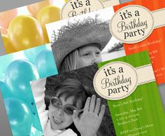 Free printable party invite.