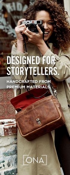 Premium camera bags and accessories, handcrafted from the finest materials. Shop the ONA collection and enjoy free U.S. shipping.