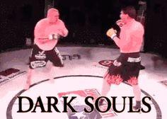 Cómo evadir golpes en la saga Dark Souls
