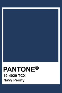 Pantone Classic Blue is the color of the Year Navy Blue Pantone, Pantone Azul, Paleta Pantone, Pantone Swatches, Pantone Colour Palettes, Pantone 2020, Color Swatches, Pantone Color, Pantone Tcx