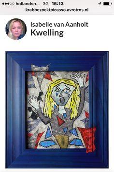 Mijn schilderij voor de Picassowedstrijd