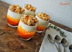 Rákóczi túrós pohárkrém – Konyhalál Cake In A Jar, Catering, Food And Drink, Pudding, Sweets, Cookies, Baking, Recipes, Snacks