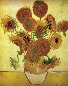 Vincent Van Gogh, Catorce girasoles en un jarrón, Arles, agosto 1888, Londres, National Gallery