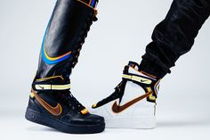 """NIKE + R.T. Air Force 1 – """"Laissez-aller"""" (Editorial) « The Hype BR"""
