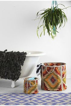 Ahhh what a cute hamper! Textiles, Large Storage Bins, Life Space, The Home Edit, Magical Thinking, My Cup Of Tea, Modern Rustic Interiors, Home Decor Inspiration, Beautiful Homes
