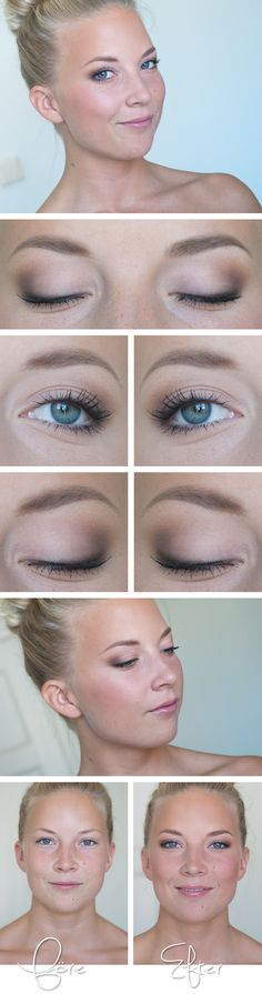 Todays look – Elin amazing natural makeup, lovely model