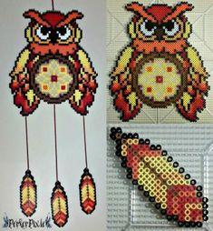 Autumn Owl DreamCatcher by PerlerPixie