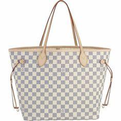 Louis Vuitton N51107 Handbag Neverfull MM Beige