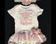 Newborn Baby Girl Coming Home Photo Oufit by PurttyStitches