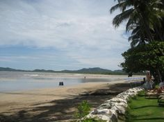 Tamarindo, Costa Rica.  Awesome - want to go back!  Love the food, love the people, love the scenery, love everything about it!