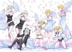 5 Anime, Chica Anime Manga, Anime Comics, Anime Art, Fate Stay Night Series, Arturia Pendragon, Fate Servants, Fate Anime Series, Pillow Fight
