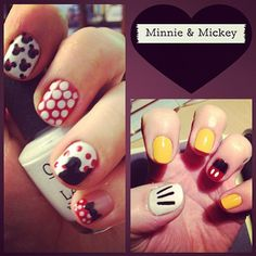 Disney Nail Art #nails #nailpolish #nailaddict #nailartist #nailtech #nailideas #beauty #nailart #nailporn