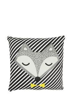 Midnight Fox Cushion