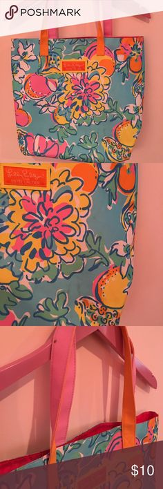 Lilly Bag Good used condition, flaws shown in 2 & 3 Lilly Pulitzer Bags