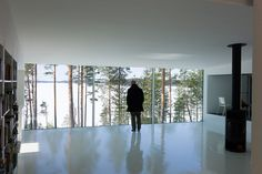 Lakeside house by NOW for Architecture and Urbanism Scandinavian Living, Scandinavian Design, Interior Inspiration, Design Inspiration, Interior Architecture, Interior Design, Space Place, Beautiful Space, Hygge
