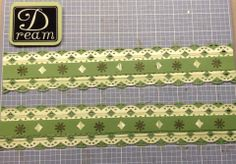 scallop stitch border under oval border