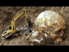A giant mystery: 18 strange giant skeletons found in Wisconsin Aliens And Ufos, Ancient Aliens, Ancient History, Illuminati, Giant Skeletons Found, Nephilim Giants, Giant People, Archaeological Finds, Ancient Mysteries