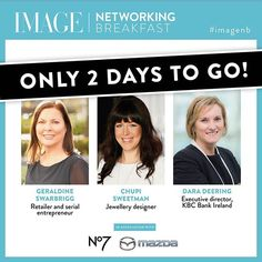 Our final Networking Breakfast of 2017 is taking place this Friday December 1 in the fabulous @themarkerhotel. Our Editor-in-chief @melaniemorris will be chatting to three incredible ladies - @geraldineswarbrigg of @inglotireland @chupisweetman founder or @chupi and Dara Deering executive director of @kbcbankireland! Join us for a morning of inspiration and to add to the festive spirit each attendee will receive a gift bag worth over 120 with thanks to @chupi @brookeandshoalsfragrances and…