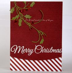Christmas Cards with Penny Black – DAY 2 - Clips-n-Cuts