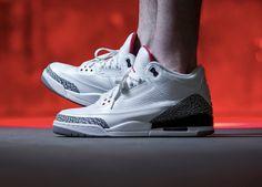 Nike Air Jordan III 'Fire Red'(bybevilacquavisuals) http://SneakersCartel.com #sneakers #shoes #kicks #jordan #lebron #nba #nike #adidas #reebok #airjordan #sneakerhead #fashion #sneakerscartel