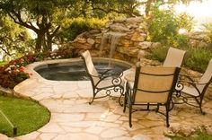 waterfall hot tub # Pin++ for Pinterest #