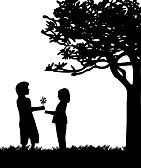 silhouettes young couple climbing a tree - Google Search Couple Silhouette, Young Couples, Silhouettes, Jasmine, Climbing, Google Search, Wedding, Valentines Day Weddings, Silhouette