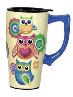Spoontiques Owls Travel Mug, Yellow Spoontiques http://www.amazon.com/dp/B00E75SP7Y/ref=cm_sw_r_pi_dp_9GD4tb1QDV7B7