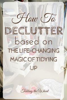If you're learning how to declutter or if you feel overwhelmed in your own home, The Life-Changing Magic of Tidying Up may be just what you need. This post is an honest review of the book.