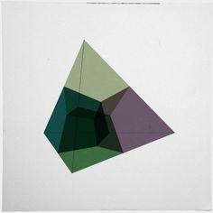 #136 Tesseract (projected into 3D space) – This is the sister piece to #135 – A new minimal geometric composition each day