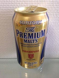 SUNTORY PREMIUM MALT'S Japanese Beer Can Limited 350ml Top-Opened Japan