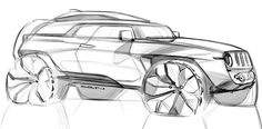 Grigory Butin - Car design sketches #6 on Behance