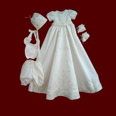 Christening gown made from your wedding dress--- how precious!