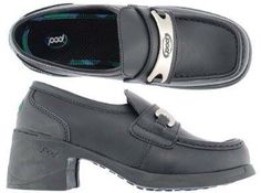 Pod shoes...I'm not sure if I had some for school actually?!