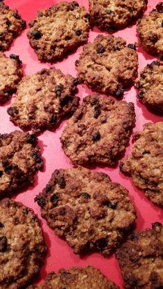 Μαλακά μπισκότα με νιφάδες βρώμης και μέλι
