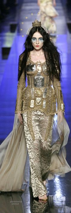 Jean Paul Gaultier, Spring/Summer 2007, Couture