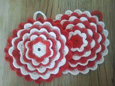 2013 crochet potholders - as a gift for elise