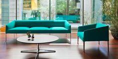 Canapé contemporain / tissu / en cuir / par Lievore Altherr Molina SAARI Arper