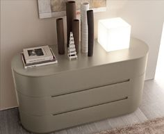 Stockist Presotto Globo rounded chest of drawers Italian contemporary bedroom furniture   Robinsons Beds